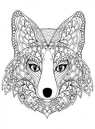 wolf coloring pages adults free printable 96993