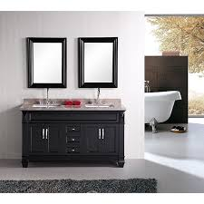Kensington 60 Vanity Design Element Hudson 60 Inch Double Sink Bathroom Vanity Set