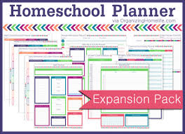 free home school free printables organizing homelife