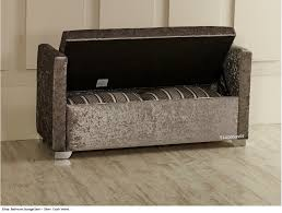 elissa ottoman storage window bed end seat bench stool crush