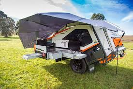 How To Make A Camper Awning Hard Edged Tvan Mk5 Off Road Caravan Conquers The Outback