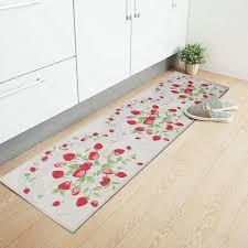 läufer küche yazi erdbeere lange küche teppich läufer teppich rutschfeste faser