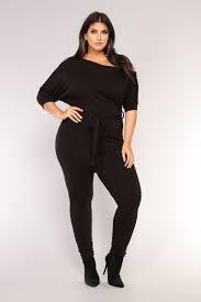 plus size black jumpsuit plus rompers and jumpsuits