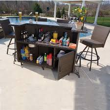 lovable patio furniture bar outdoor plank regarding plan 19