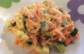 que cuisiner avec des carottes salade de carotte et concombre au fromage frais recette dukan pl