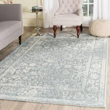 7 x 7 area rugs safavieh adirondack slate ivory 5 ft 1 in x 7 ft 6 in area rug