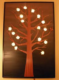 lighted pictures wall decor new unique lighted twinkling led lights canvas wall art throughout