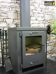 wood burning multifuel stove contemporary 9kw italia wood burner