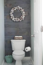 best ideas about tiny bathrooms pinterest space saving plank wall stained minwax classic gray except tiles the water closet tiny bathroomssmall half bathroom remodelhalf