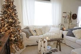 neutral minimalist christmas living room mrs rollman blog