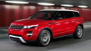 land rover red land rover range rover evoque car machine crossover red range