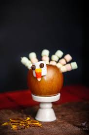 turkey edible thanksgiving craft that