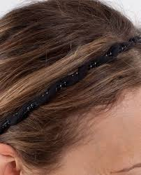 braided headbands lululemon braided headband black lulu fanatics