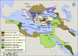 Ottoman Empire Borders Ottoman Empire Expansion Mapsof Net