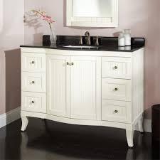 white bathroomity pottery barn inch black granite top gray