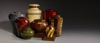 memorial urns artisan crafted turned wood cremation urns urns online