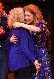 Carol King by Carole King Pays A Visit To See Beautiful The Musical Inspired By