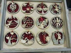 12days of ornament set russ 12 days of