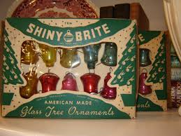 gone thrifting retro christmas ornaments
