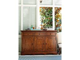 paula deen dining room paula deen by universal dining room credenza 596679 hickory
