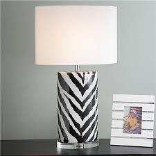 Zebra Print Table Lamp 67 Best Black U0026 White Images On Pinterest Chandeliers Guest