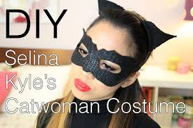 halloween diy selina kyle catwoman the dark knight rises costume