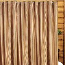 Blue Ticking Curtains Ticking Stripe Curtains Like This Item Ticking Stripe Curtains