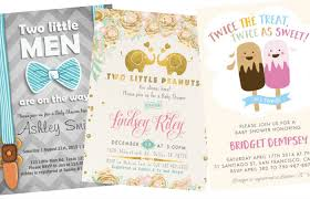 for a baby shower the best baby shower invites twiniversity