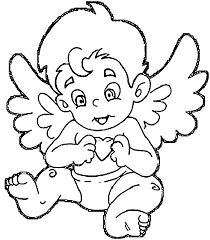 angel coloring pages wecoloringpage