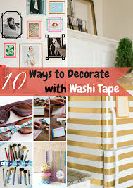 things to do with washi tape the options for what you can do with washi tape is pretty endless