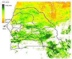 Dakar Senegal Map Satellite Eye