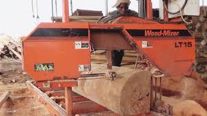 Wood Cutting Machine In South Africa by Wood Mizer Sawmills In Ghana Africa Youtube