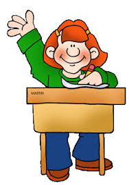 Picture Of Student Sitting At Desk Sitting At Desk Clipart Martin