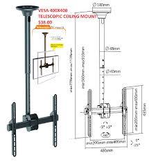 telescoping tv wall mount 32