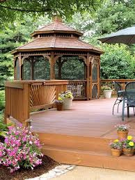 Backyard Deck Pictures by Best 25 Deck Gazebo Ideas On Pinterest Gazebo Ideas Pergola
