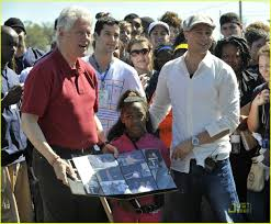 Bill Clinton Hometown by Brad Pitt U0026 Bill Clinton Are Bffs Photo 999261 Bill Clinton