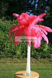 feather plume palm tree wholesale bulk discount cheap pink
