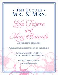 engagement party invitation wording sle engagement invitation 9 engagement party invitations free