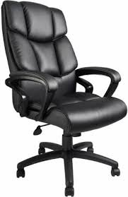 Black Leather Office Chairs Boss Executive Italian Leather Office Chair B8701 Free Shipping