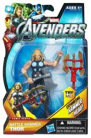 amazon com the avengers 2012 comic series battle hammer thor 4