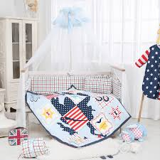 Mickey Mouse Baby Bedding Online Get Cheap Mickey Mouse Crib Bedding Set Aliexpress Com