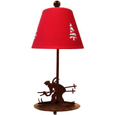 lampe de chevet montagne lampes de chalet sur le coin montagne com