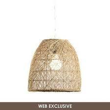 Woven Pendant Light Woven Rattan Dome Pendant Light