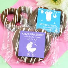 michael baby shower decorations baby shower edible chocolate pretzel favors gift baskets