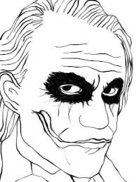 The Joker Coloring Pages Funycoloring Coloring Pages Joker