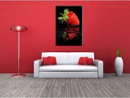 tableau de cuisine moderne tableau cuisine reflet de la fraise boutique tableaux modernes