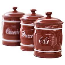 burgundy kitchen canisters empeco green coffee canister 1940s metal sold ruby