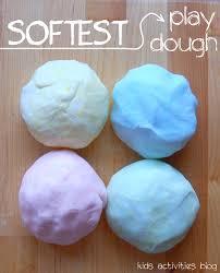 play dough recipe great gift idea no cook playdough play