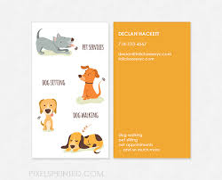dog walking business cards free Juve cenitdelacabrera