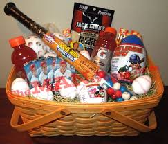 easter gift baskets for adults make a baseball easter basket for your baseball fan